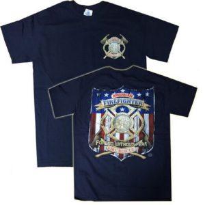 Camiseta vintage bomberos americanos