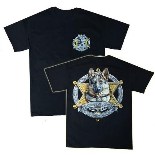 Camiseta Unidad Canina Sheriff Estados Unidos