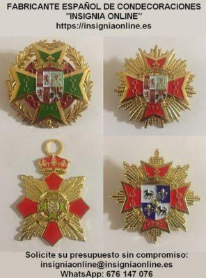 Condecoraciones, medallas y distintivos