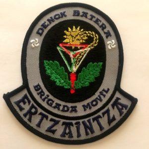 Emblema Denok Batera Brigada Móvil Ertzaintza