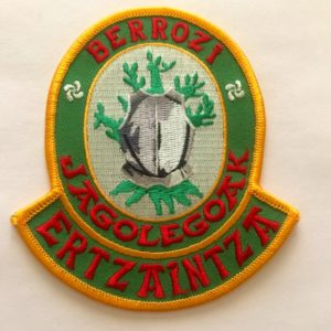 Emblema Escoltas Ertzaintza