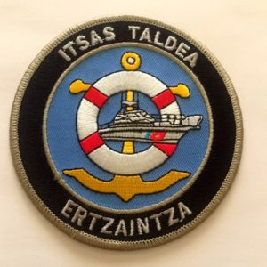 Escudo unidad rescate marítimo policía vasca