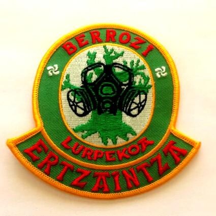 Escudo unidad subsuelo berrozi ertzaintza