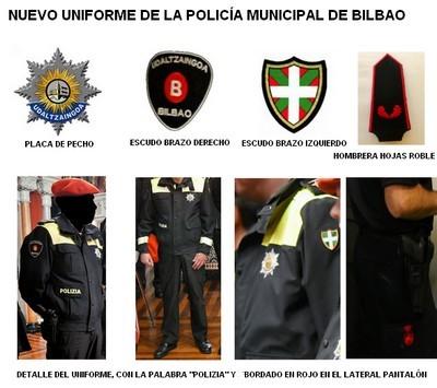 Uniforme Policía Municipal Bilbao